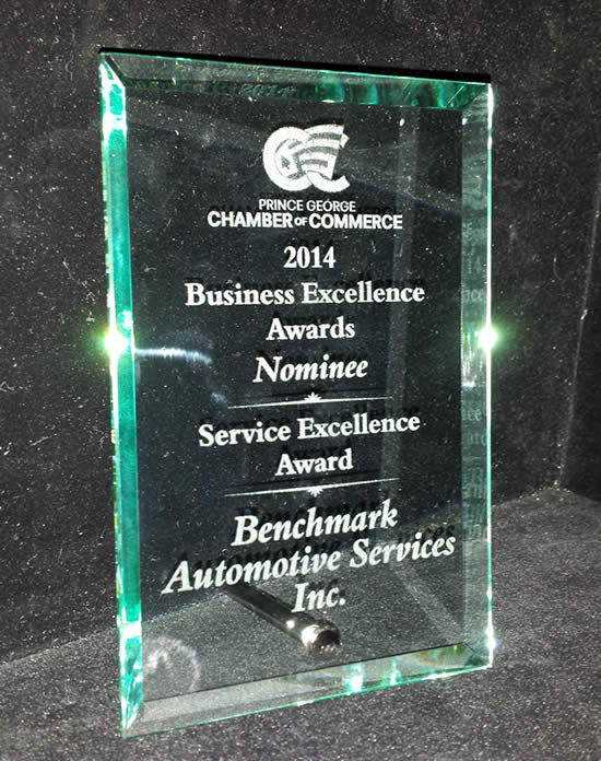 Business Excellence Awards 2014 Nominee