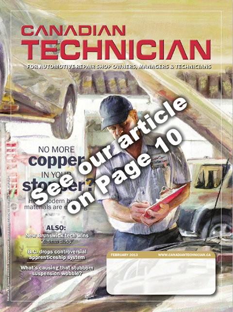 See the artcile about Benchmark in Canadian Technician magazine page 10